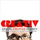 Creativ Digital Creative Agency Portfolio Template - GraphicRiver Item for Sale