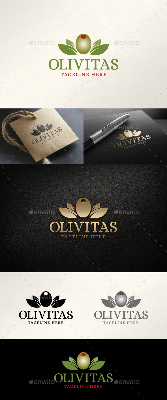 GraphicRiver Olivitas Logo 11407432