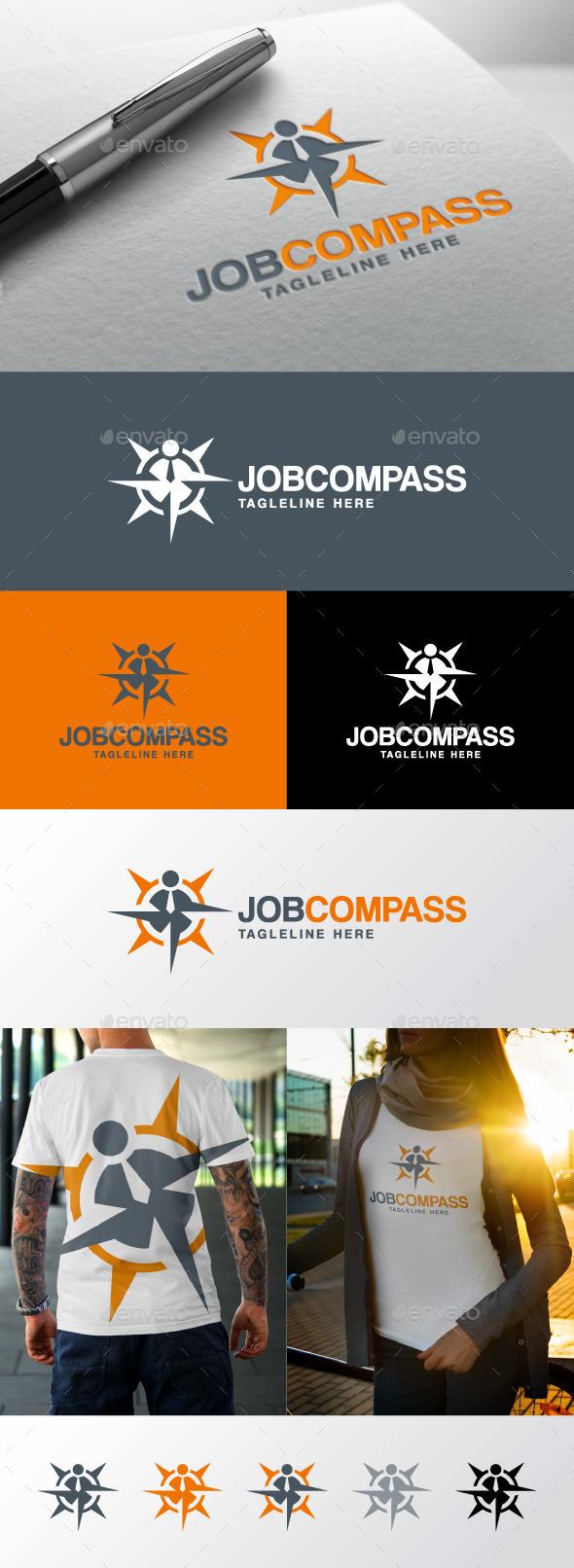 GraphicRiver Job Compass Logo 11423648