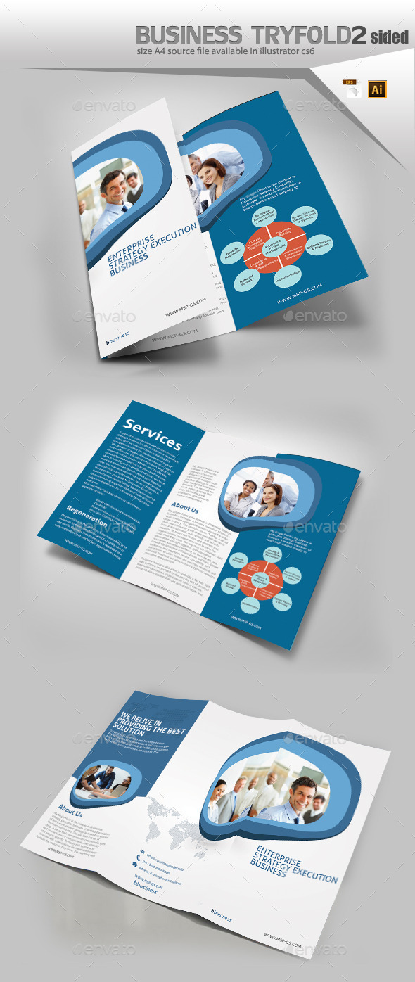 GraphicRiver Business Trifold Brochure 11423704