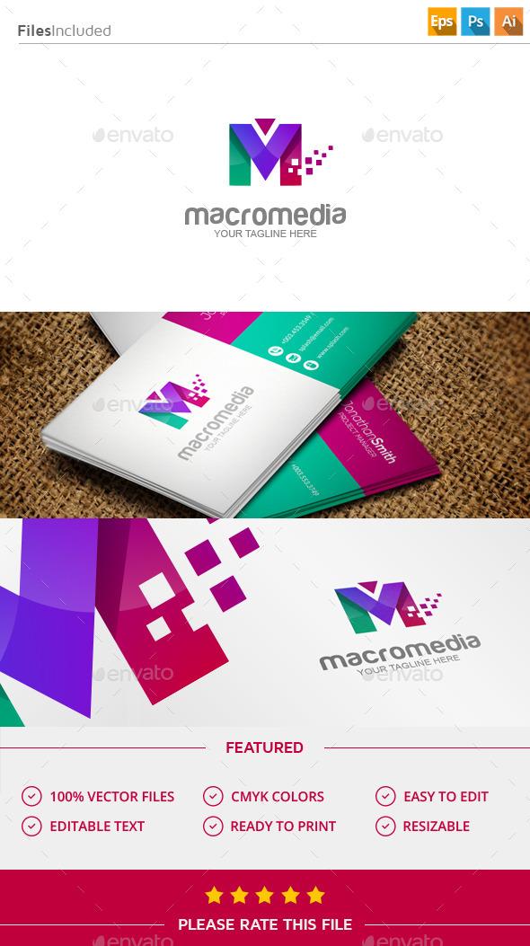 GraphicRiver Letter M Logo 11424015