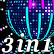 Equalizer Disco Ball (3-Pack) - VideoHive Item for Sale