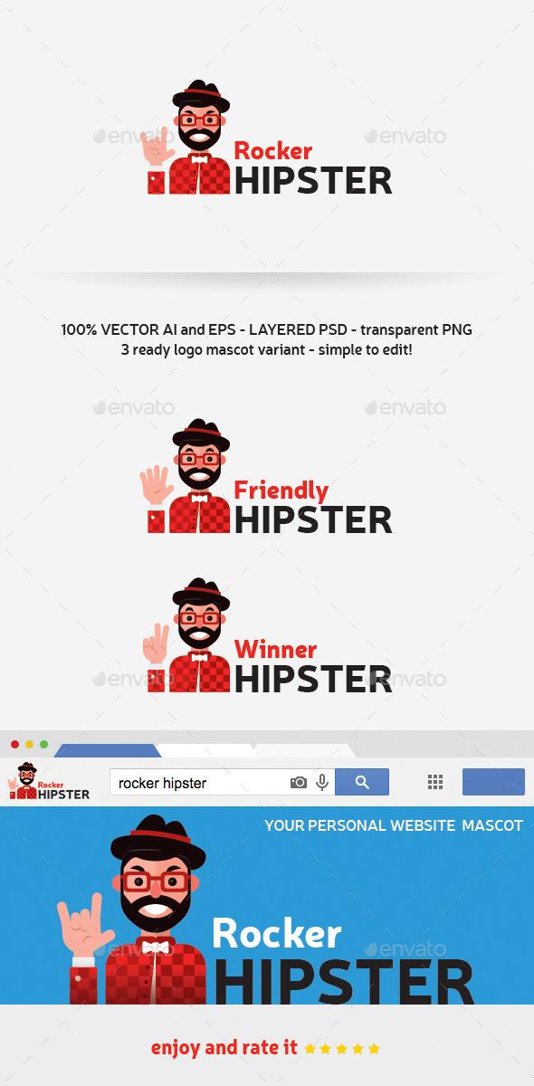 GraphicRiver Rocker Hipster 11424262