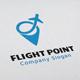 Flight Point Logo - GraphicRiver Item for Sale