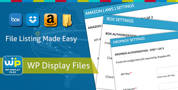 CodeCanyon WP Display Files 11424356
