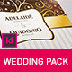 Gold Ornament Wedding Pack Indesign Template - GraphicRiver Item for Sale