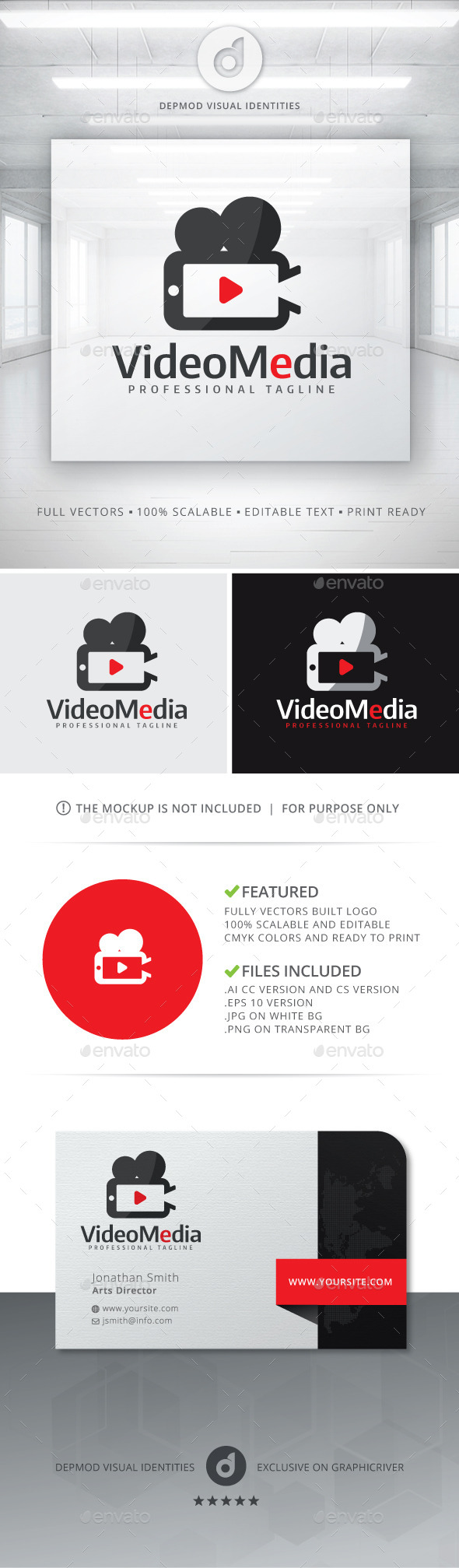 GraphicRiver Video Media Logo 11425120
