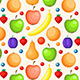 Seamless Pattern with Ripe Fruit - GraphicRiver Item for Sale