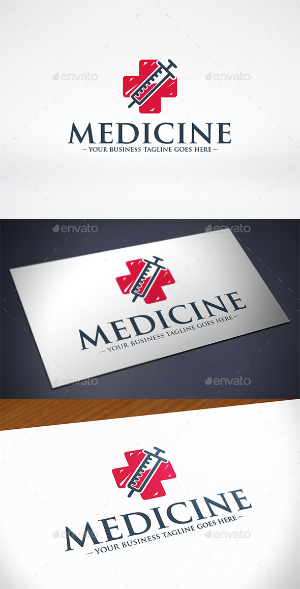 GraphicRiver Medicine Logo Template 11425229