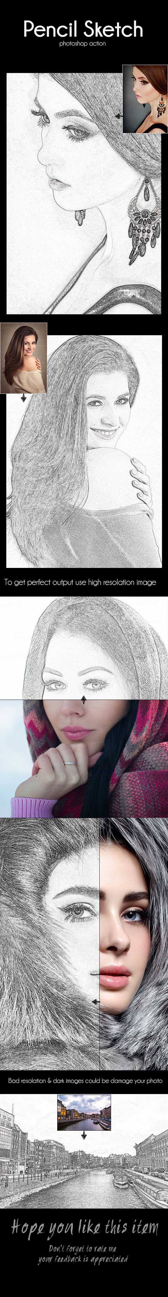 GraphicRiver Pencil Sketch 11425476