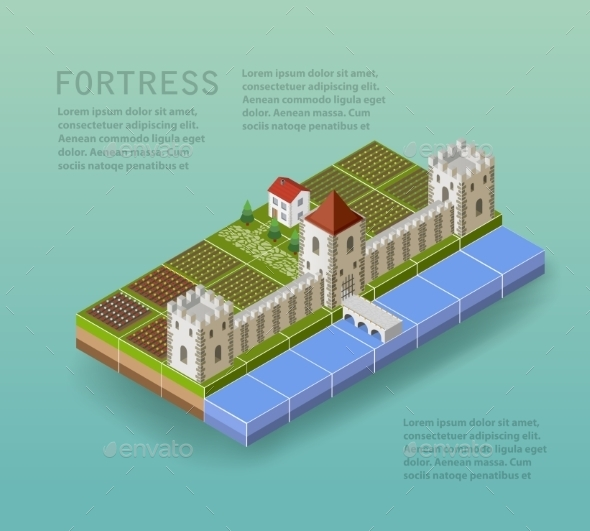 GraphicRiver The Fortress 11425629