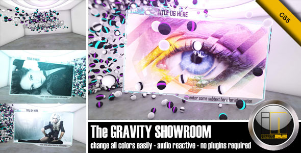 After Effects Project - VideoHive The Gravity Showroom 1145152