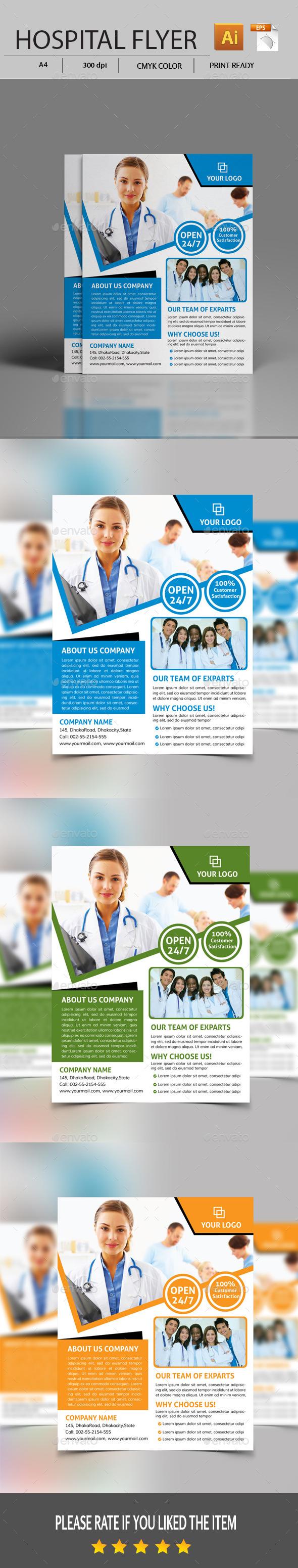 GraphicRiver Modern Medical Flyer 11426150