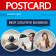 Creative Business Postcard  - GraphicRiver Item for Sale