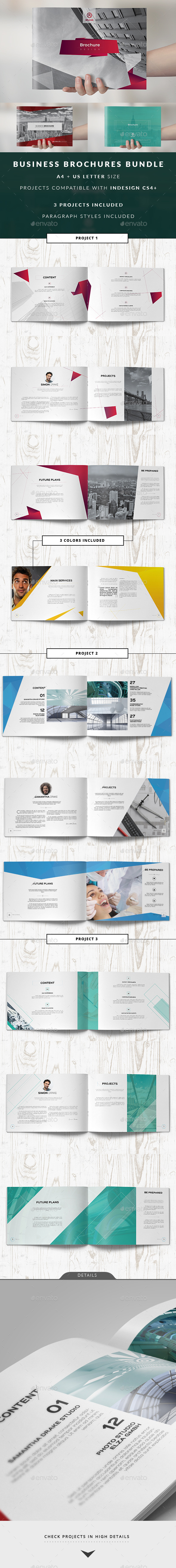 GraphicRiver Multipurpose Business Catalog Brochure Bundle 11426278