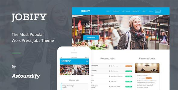 WordPress Job Board Theme - Jobify