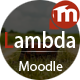 Lambda - Responsive Moodle Theme - ThemeForest Item for Sale