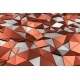 Abstract 3D Rendering Of Low Poly Surface. - GraphicRiver Item for Sale
