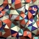 Abstract 3D Rendering Of Low Poly Colored Surface. - GraphicRiver Item for Sale