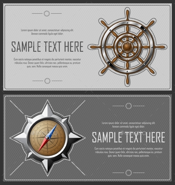 GraphicRiver Set Of Grey Abstract Flyers 11426465