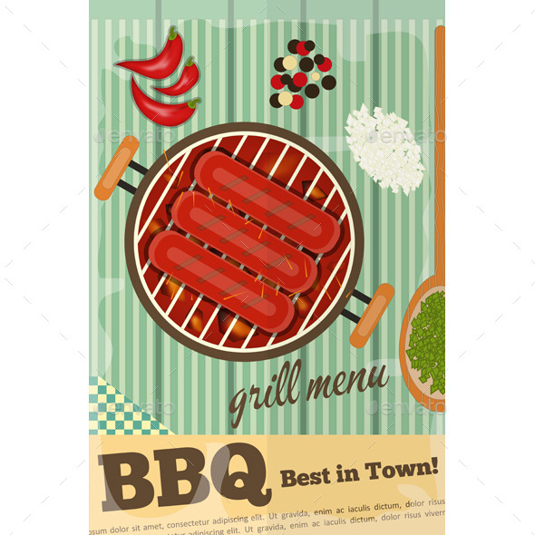 GraphicRiver BBQ 11426485