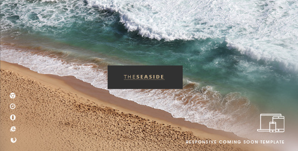 ThemeForest Seaside One Page HTML Template 11426524