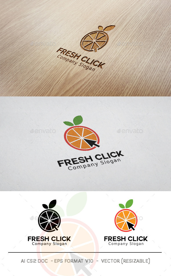 GraphicRiver Fresh Click Logo 11426678