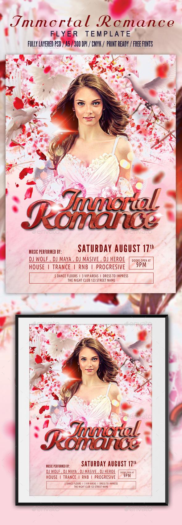 GraphicRiver Immortal Romance Flyer Template 11426691