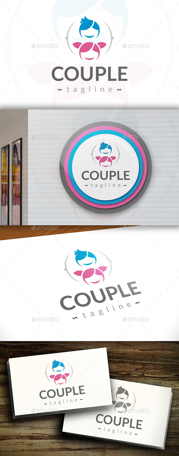 GraphicRiver Couple Logo 11426921