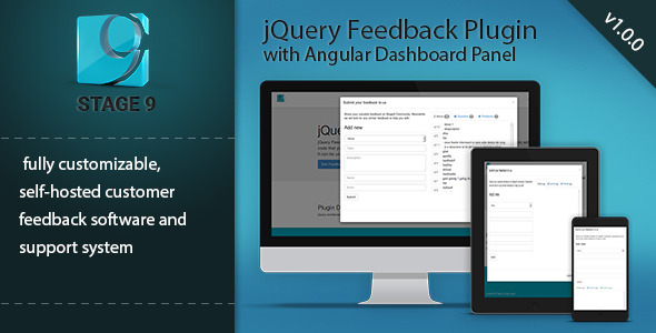 CodeCanyon Feedback Plugin with Angular Dashboard Admin 10789169
