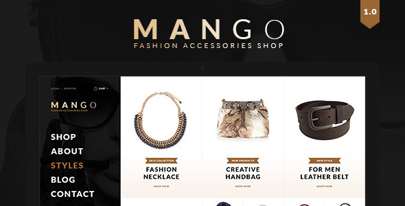 Mango - Creative Multi Purpose WooCommerce Theme