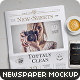 Newspaper Mock-Up - 4 - GraphicRiver Item for Sale