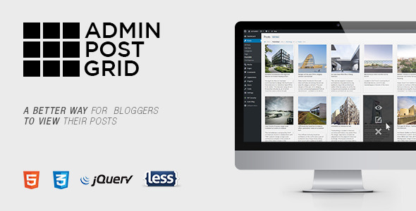 CodeCanyon Admin Post Grid 11405282