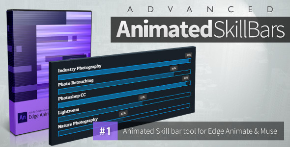 CodeCanyon Advanced Animated Skill Bars Edge Animate 11427460