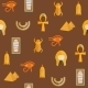 Seamless Background On Ancient Egypt Theme - GraphicRiver Item for Sale