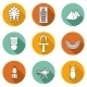 Set Of Icons On Ancient Egypt Theme - GraphicRiver Item for Sale