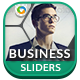 Business Sliders - 3 Designs - GraphicRiver Item for Sale