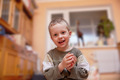 Portrait of 3 year-old boy in home interior background. - PhotoDune Item for Sale