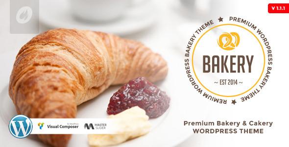 Bakery WordPress Bakery Cakery Food Theme