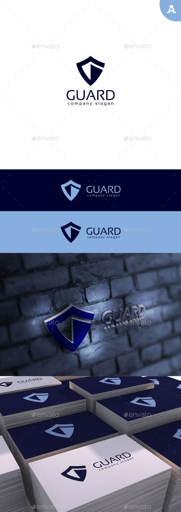 GraphicRiver Guard Logo 11428530