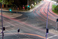 Intersection Light Trails - PhotoDune Item for Sale