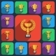 Trophy Flat Icons - GraphicRiver Item for Sale