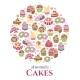 Cakes Emblem - GraphicRiver Item for Sale