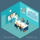 Isometric 3d Business Meeting - GraphicRiver Item for Sale