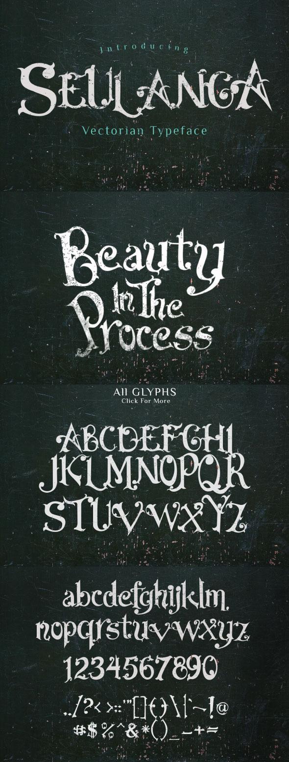 GraphicRiver Seulanga Typeface 11429784