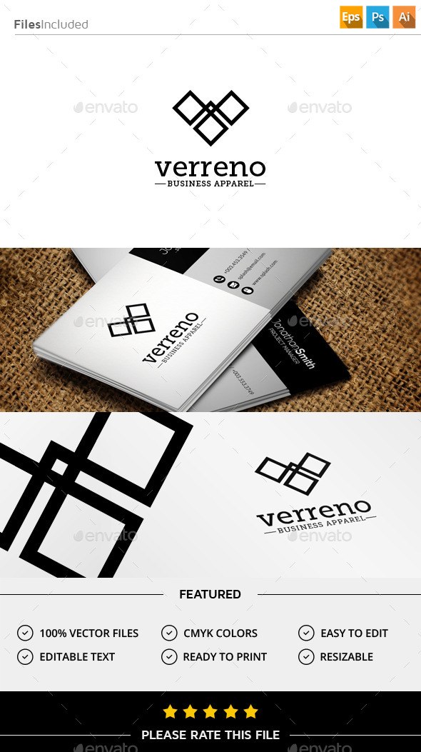 GraphicRiver Letter V Logo 11431129
