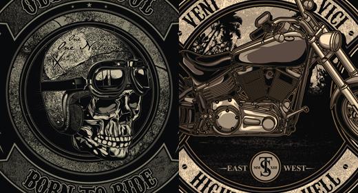 Biker design