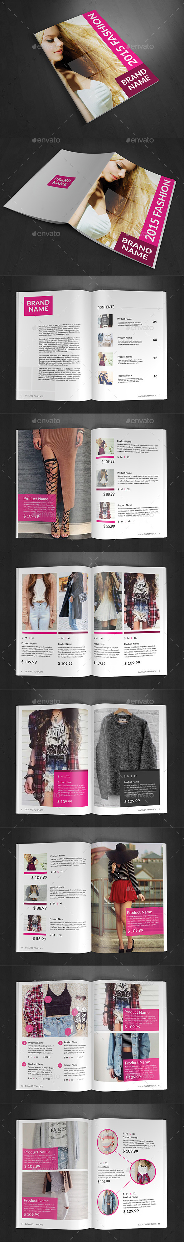 GraphicRiver Product Fashion Catalog 11431191