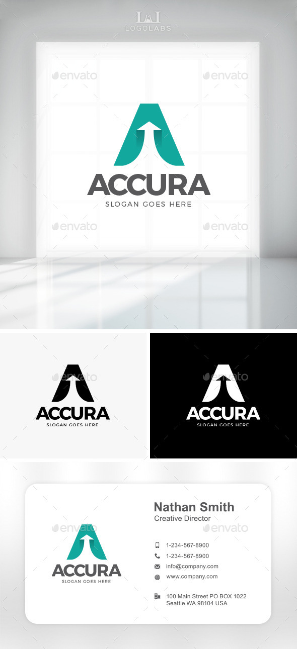 GraphicRiver Accura Letter A Logo 11431480