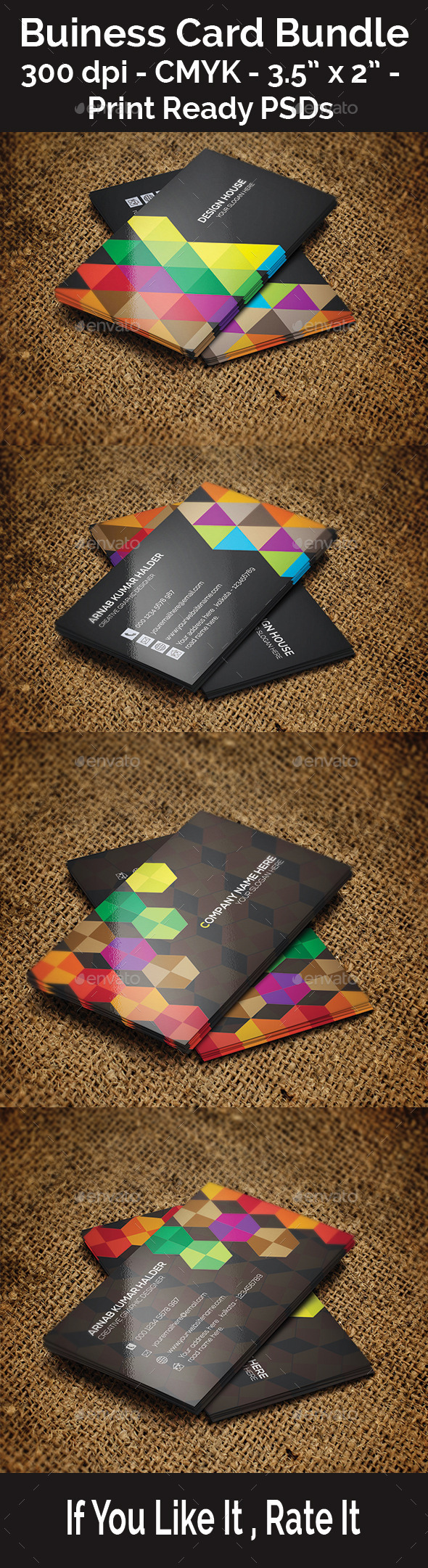 GraphicRiver Buiness Card Bundle 11366106